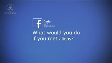 Thumbnail for video 'Kids' Questions – Part 1: What would you do if you met aliens?'